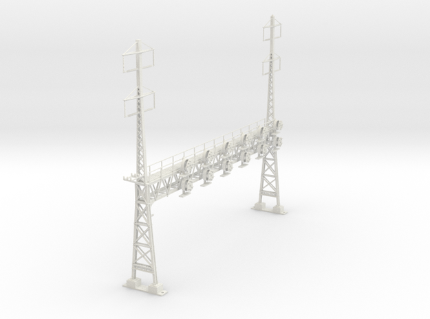 HO Scale PRR W-signal LATTICE 6 Track  W 2-2 PHASE in White Strong & Flexible