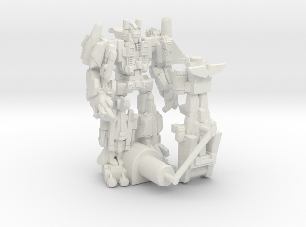 Targetmaster Superion, 5mm  in White Natural Versatile Plastic