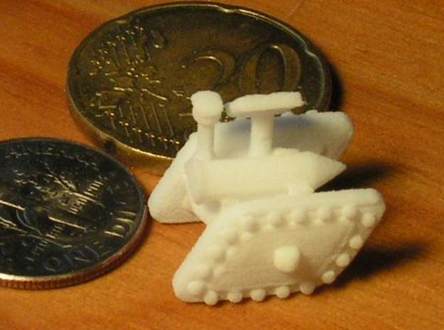 3 Mixed Set of 6 Armored Vehicles  3d printed Description