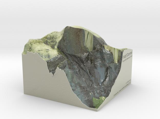 """Yosemite - Half Dome Map, 6"""""""
