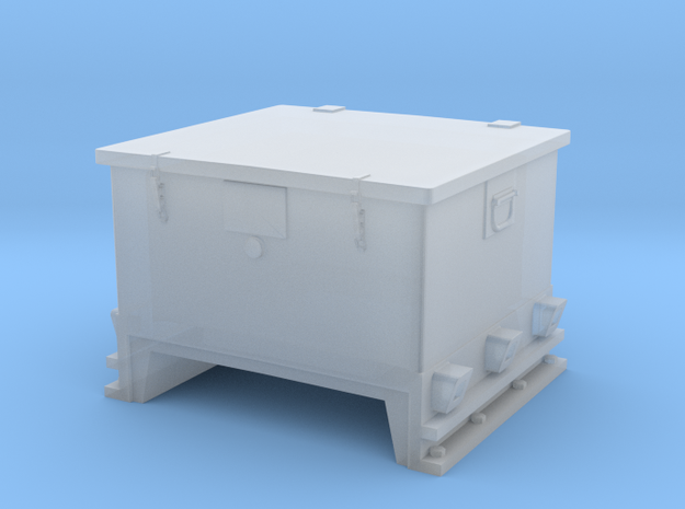 1/72 DKM 3.7.cm Ammo Box in Smooth Fine Detail Plastic