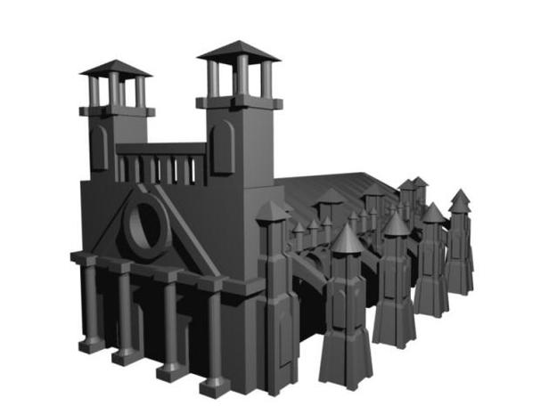 Gothic Style Cathedral 3d printed Gothic Style Cathedral