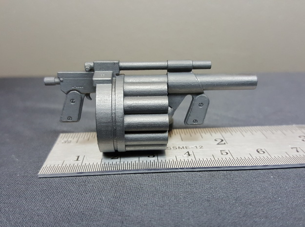 Hawk MM1 Grenade Launcher 1:10 scale in Frosted Ultra Detail