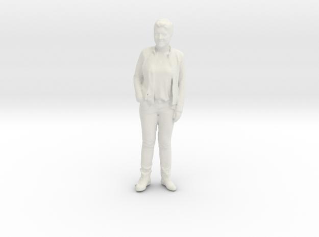 Printle C Femme 201 - 1/20 - wob in White Natural Versatile Plastic