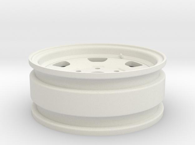 Toyota FJ40 1.7 (RC4WD hubs) in White Natural Versatile Plastic
