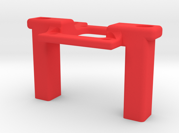 Mamba X Mount in Red Strong & Flexible Polished