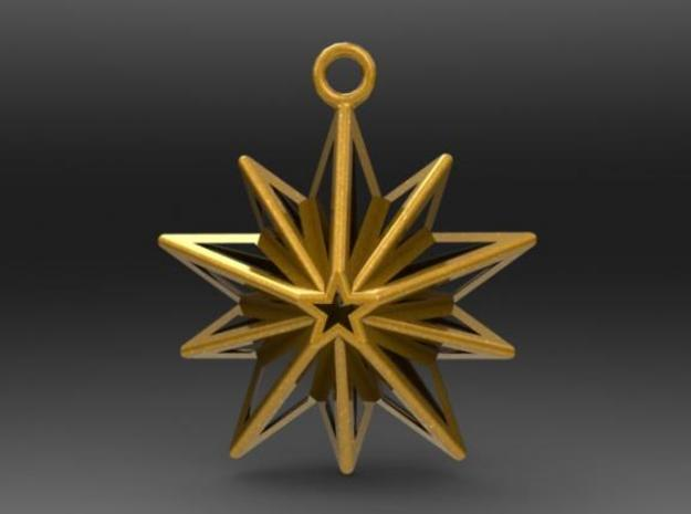 Christmas Star 3d printed Description