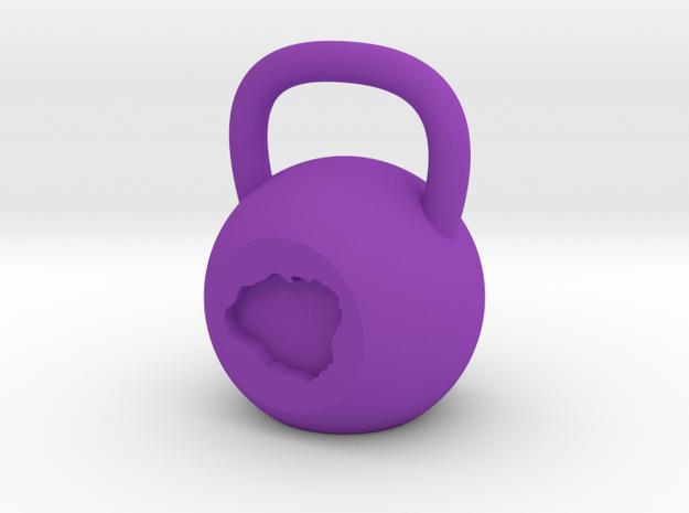 Kauai - Plastic in Purple Strong & Flexible Polished