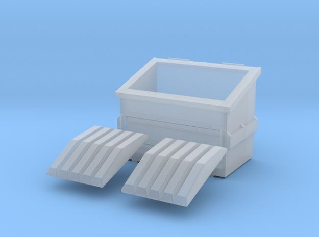 Dumpster 15mm in Smoothest Fine Detail Plastic