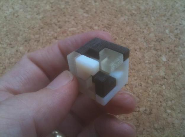 Triaxial (2.4cm) 3d printed Triaxial 2cm completed