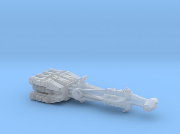 Rebellious Spaceship, 1:4000 in Smoothest Fine Detail Plastic