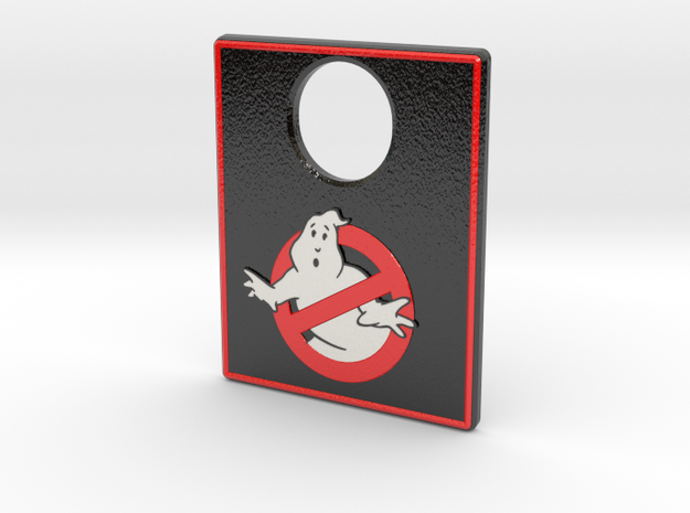 Pinball Plunger Plate - Ghost Bustin 6 in Coated Full Color Sandstone