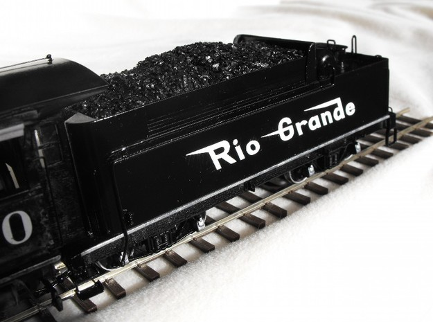 Tender Kit, D&RGW C-21 #360 Locomotive On3/On30 in Smooth Fine Detail Plastic: 1:48 - O