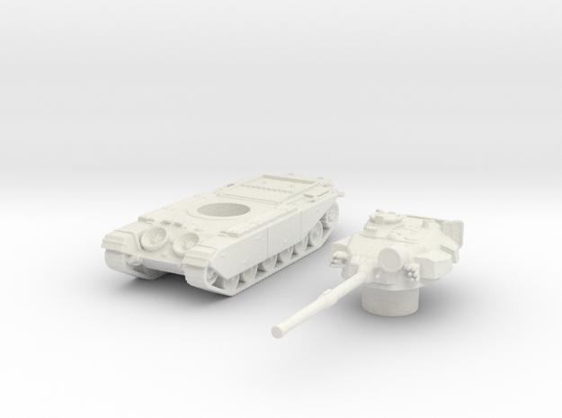 Centurion tank Late (British) 1/144 in White Natural Versatile Plastic