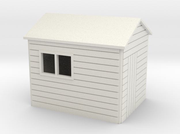 Garden Shed  8 x 6 Apex Roof oo 4mm