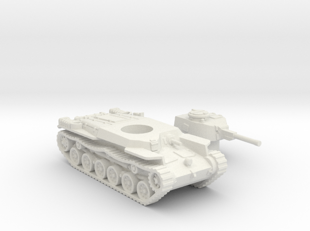 ShinHoTo Tank (Japan) 1/100 in White Natural Versatile Plastic