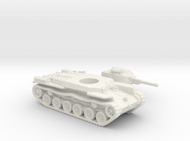 ShinHoto Tank (Japan) 1/144 in White Natural Versatile Plastic