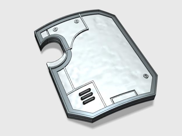 5x Blank - Terminator Wall Shields w/Hand