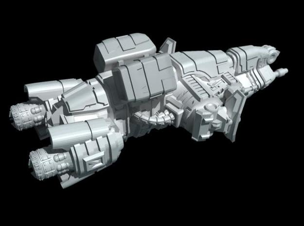 Titan Class - Assault Frigate 3d printed rear quarter