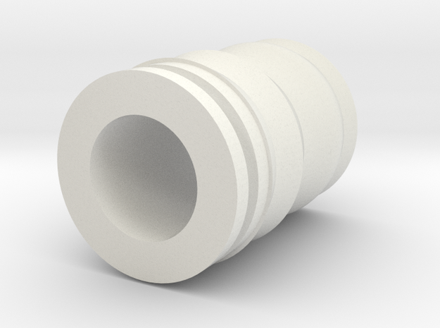 Drip Tip in White Strong & Flexible
