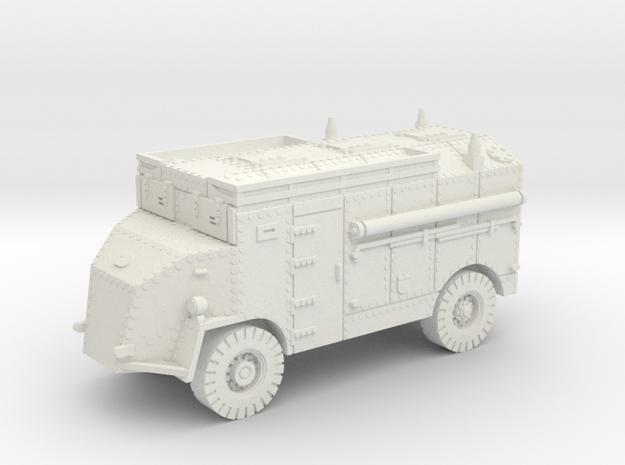Dorchester AEC 4x4 (British) 1/100 in White Natural Versatile Plastic