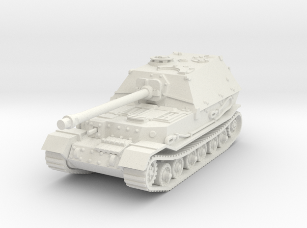Elefant tank (Germany) 1/87 in White Natural Versatile Plastic