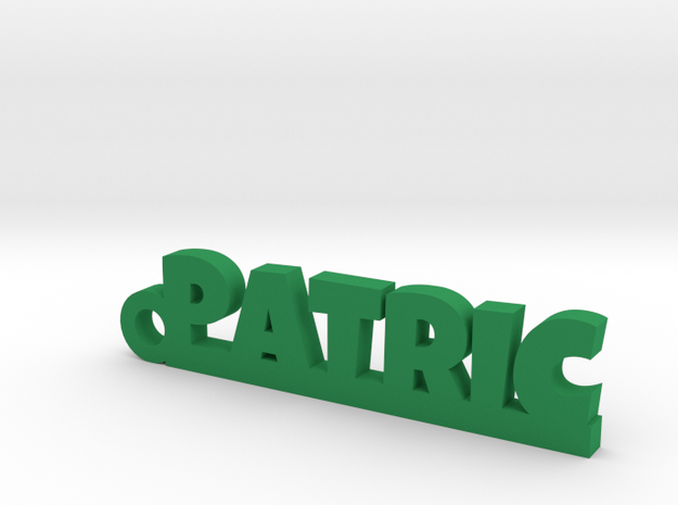 PATRIC Keychain Lucky in Green Processed Versatile Plastic
