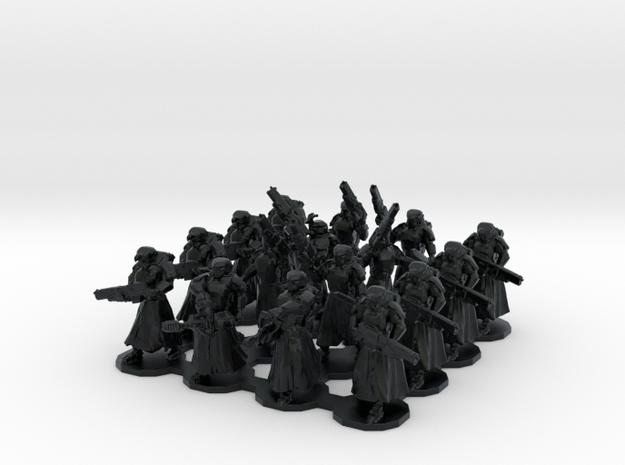 15mm Assualt Troops 16 w/ Flamethrowers