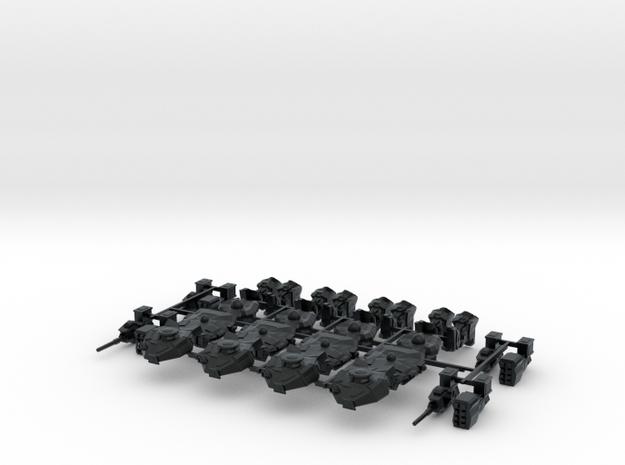 Titan, 6mm in Black Hi-Def Acrylate