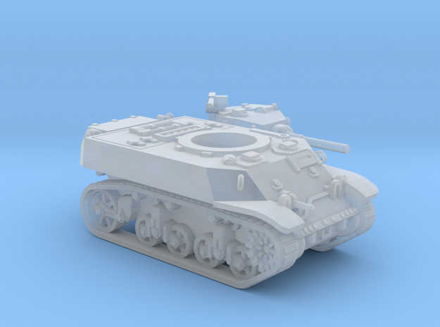 M3 Stuart tank (USA) 1/200 in Smooth Fine Detail Plastic