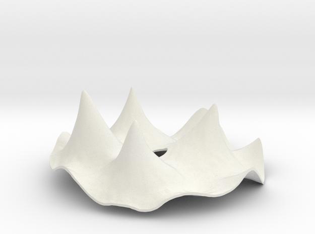 Ambrosia Cover Lid in White Natural Versatile Plastic