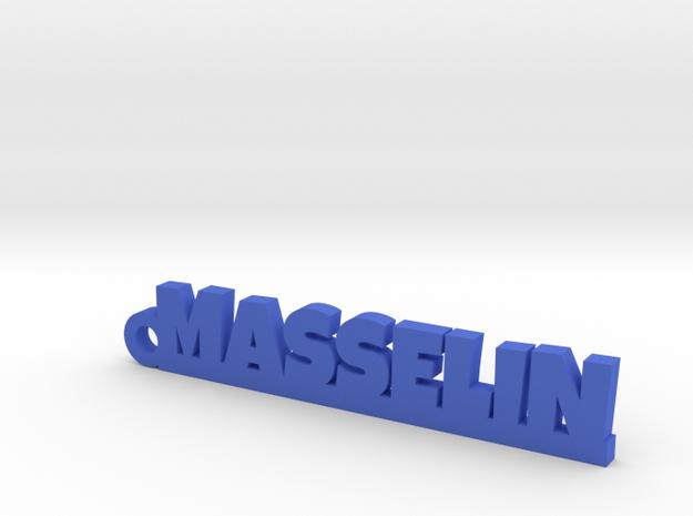 MASSELIN Keychain Lucky in Blue Processed Versatile Plastic