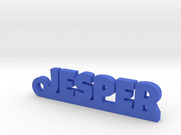 JESPER Keychain Lucky in Blue Processed Versatile Plastic