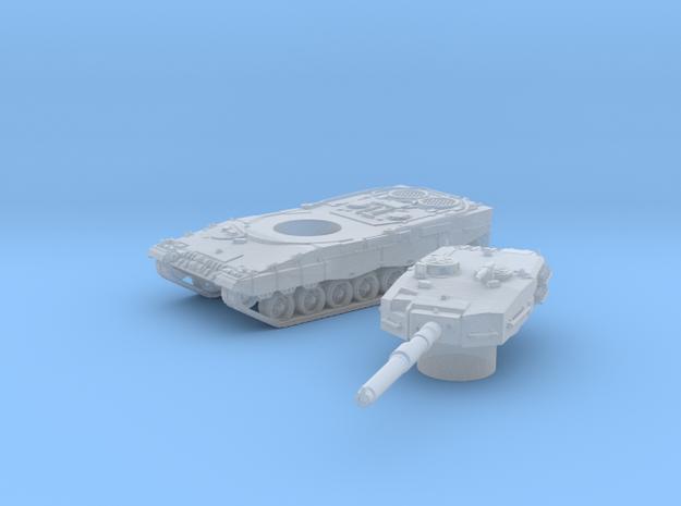 Leopard II tank (Germany) 1/200 in Smooth Fine Detail Plastic