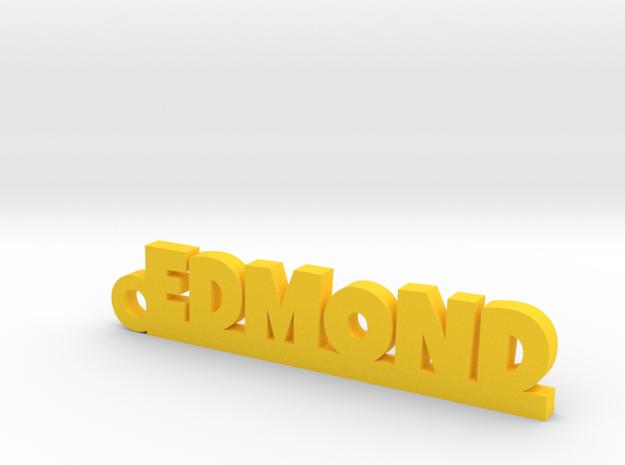 EDMOND Keychain Lucky in Yellow Processed Versatile Plastic