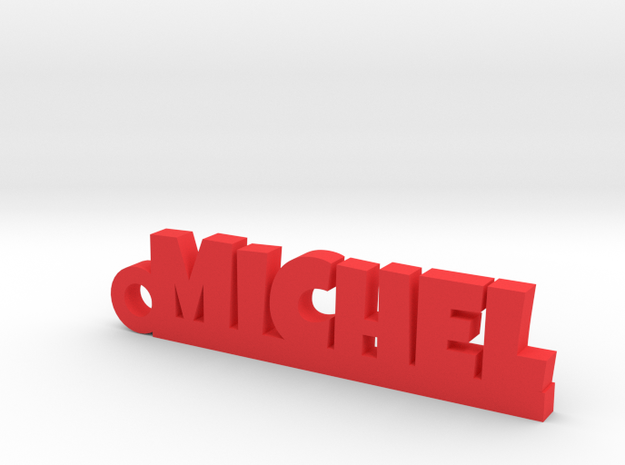 MICHEL Keychain Lucky in Red Processed Versatile Plastic