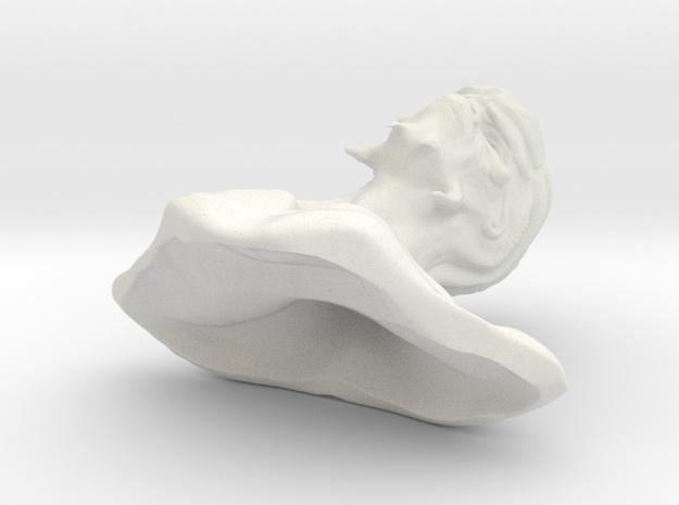 Alien head in 1:6 scale hollow inside
