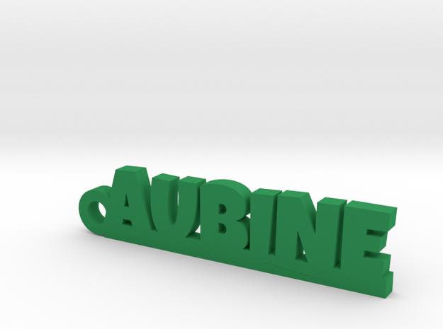 AUBINE Keychain Lucky in Green Processed Versatile Plastic