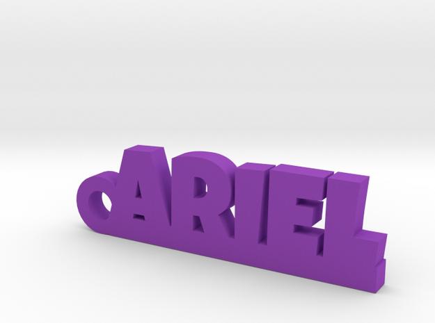 ARIEL Keychain Lucky in Purple Processed Versatile Plastic