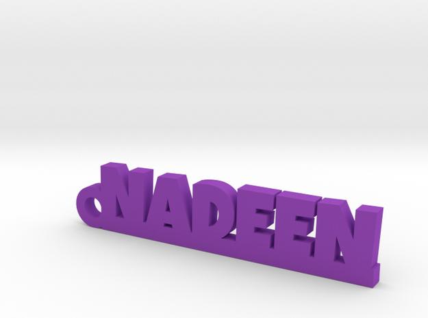 NADEEN Keychain Lucky in Purple Processed Versatile Plastic