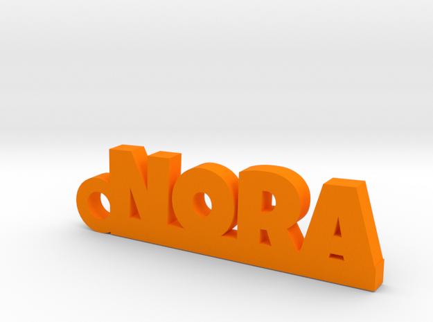 NORA Keychain Lucky in Orange Processed Versatile Plastic