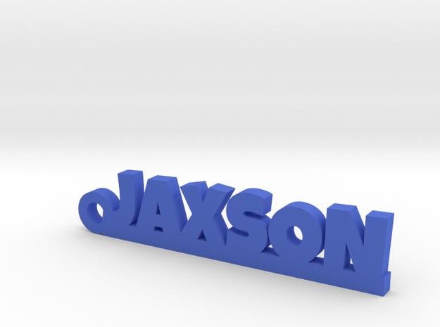JAXSON Keychain Lucky in Blue Processed Versatile Plastic
