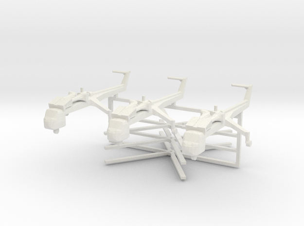 1/350 CH54 X 3 Off in White Strong & Flexible