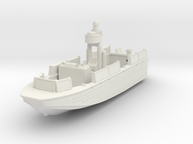 1/144 USN Riverine Assault Boat  - Coastal Riverin in White Natural Versatile Plastic