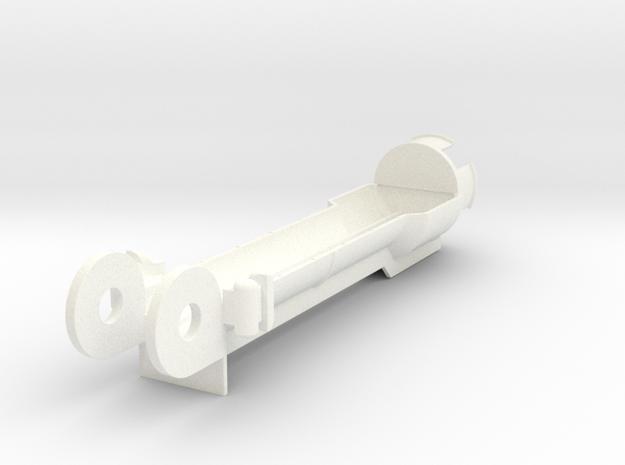 VENOM Thunderball turret housing (2 of 8) in White Processed Versatile Plastic