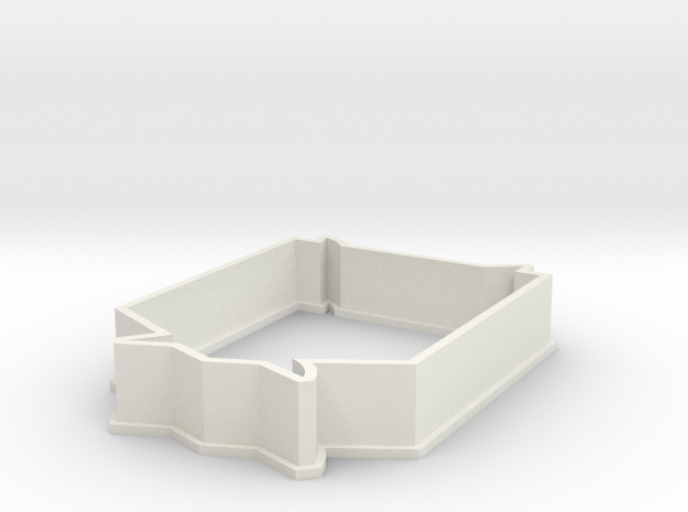 Survey Corp cookie cutter  in White Strong & Flexible