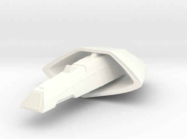 Vulcan T'Pau Type Transport 1/2500 in White Processed Versatile Plastic