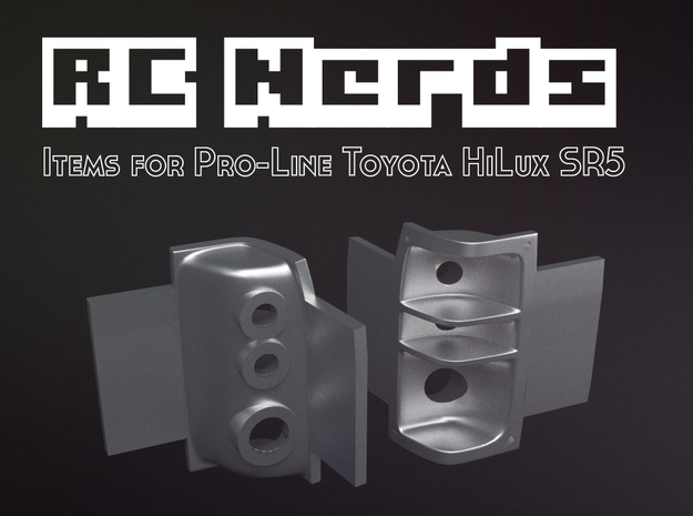 RCN015 Light Housing for Pro-Line Toyota SR5