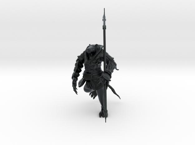 Rat Hero, 28-32mm Scale in Black Hi-Def Acrylate