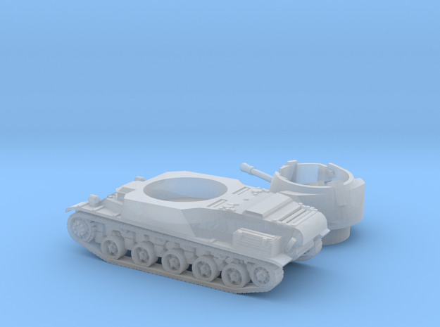 L-62 tank (Sweden) 1/200 in Smooth Fine Detail Plastic